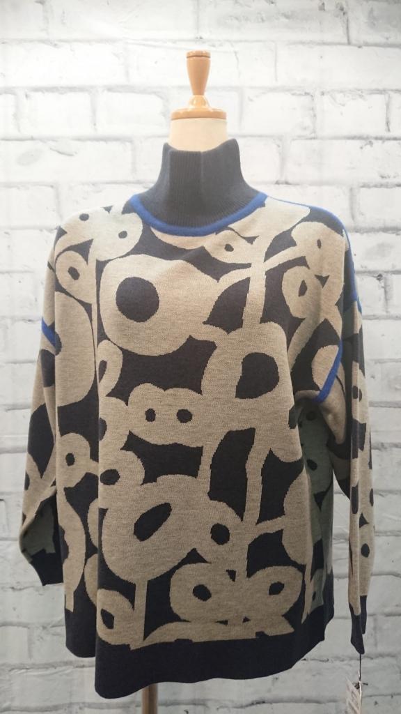 ノスタルジックな味わいのあるセーター