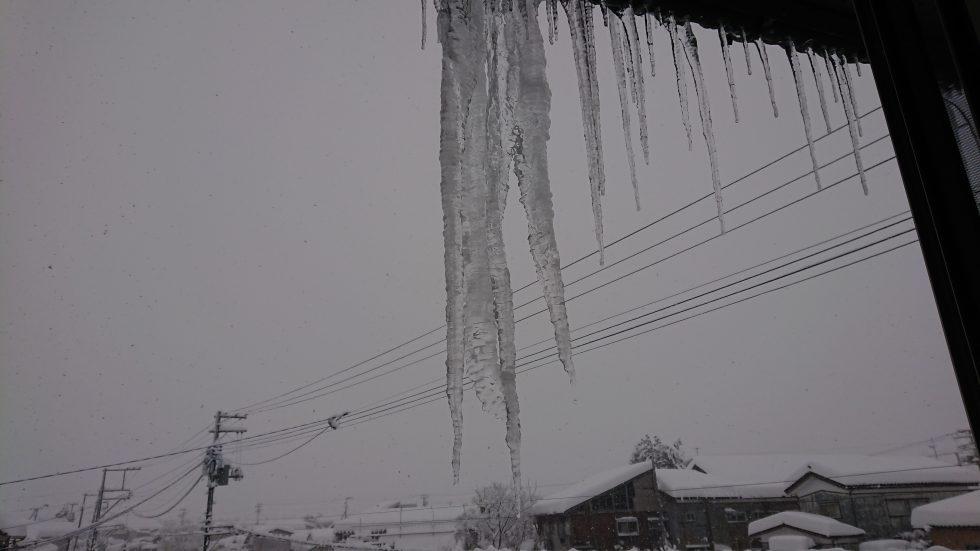 大雪でした。